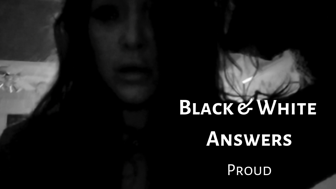 Black & White Answers